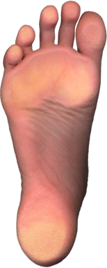 image of the sole of a foot